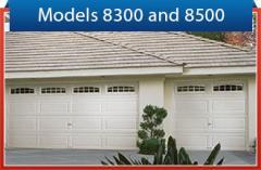 Models 8500 and 8300 Garage Doors