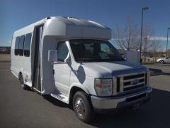 2008 Ford E450 Turtle Top Odyssey Bus
