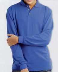 Men's Newbury Long Sleeve Sport Polo Shirt