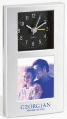 Photo Frame & Quartz Alarm Clock