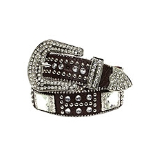 Fashion Gemstone Western Belt
