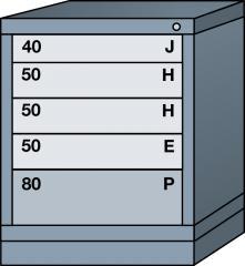"""Desk (26-7/8""""High)- Slender"""