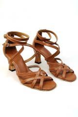 Bronzed Bella Latin Dance Shoes