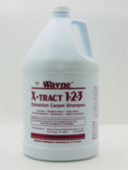Carpet Shampoo Wayne X-Tract 1-2-3