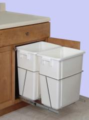 Double Pull-Out Trash Can