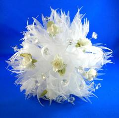 Delicate Paper Flower Mini Crystal Bouquet