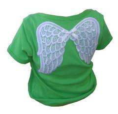 Green Angel Baby T-Shirt