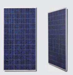 Glass-framed Crystalline Panels