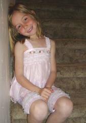 Toddler Girl Frilly Pink Pajama Set