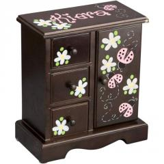 Musical Jewelry Armoire