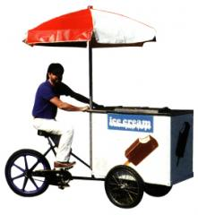 Tricycle Ice Cream Vendor, Item # 510