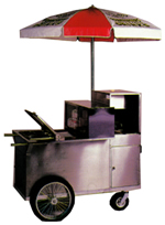 Hot Dog Pushcart, # 100S
