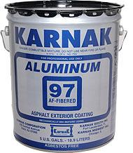97AF Fibered Aluminum Coating