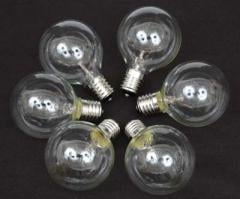 G30 Globe Light Bulbs C7 Candelabra Base