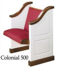 Colonial Church Pews