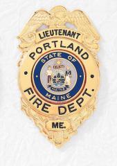 Custom Firefighter Badges B-38