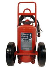 ABC Dry Chemical Wheeled Fire Extinguisher
