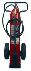 Ansul Carbon Dioxide Wheeled Fire Extinguisher