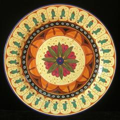Anni round platter