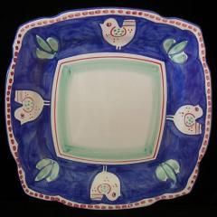 Blu Chicken square platter