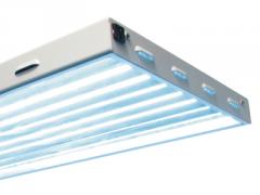 Sun Blaze T5 HO 24 - 2-ft 4-Lamp Fluorescent Light