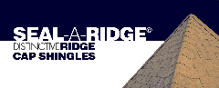 Seal-A-Ridge® Protective Ridge Cap Shingle