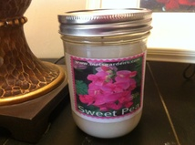 Sweet Pea 8oz Soy Candle