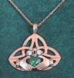 Ladies Claddagh Pendants