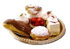 Single Portion Pastries
