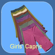 Girls' Capris