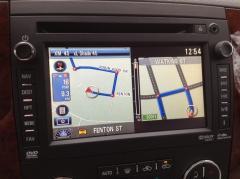GMC Factory Hard Drive Navigation System
