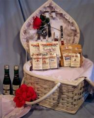 Yours Forever Wedding Picnic Basket