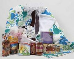 Hawaiian New Baby Basket