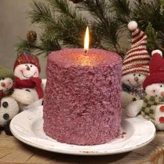 Christmas Candles Cake Candles™ Cranberry