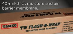TW Flash-N-Wrap®-40 Reflective Sheet Membrane