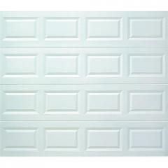 8X7 WHT STL Garage Door 119938