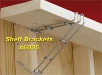 The Bat Hook Instant Shelf Brackets