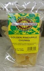 Sweet Golden Pineapple Chunks (8oz.)