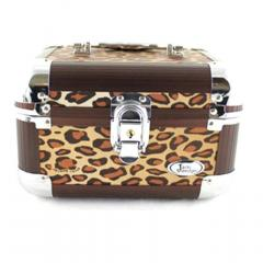 Pin Up Cheetah Train Case