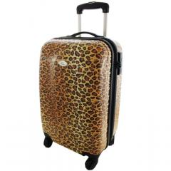 Pin-Up Cheetah Carry-On Luggage w/Lock