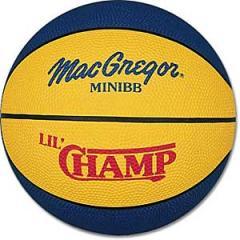 Rubber Basketballs MacGregor Lil' Champ