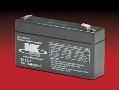 FIAMM 6v 1.2ah SSLA Battery FG10121