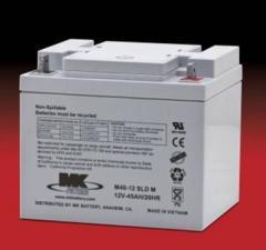 Battery 12v 45ah SSLA ES40-12 Deka MK