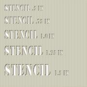 Custom Mylar Stencils