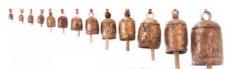 Noah Bells Set of 13 Iron & Copper India