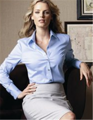 Ladies' Pure Finish Cotton Shirt