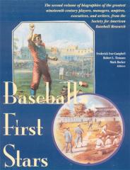 Baseball's First Stars Book
