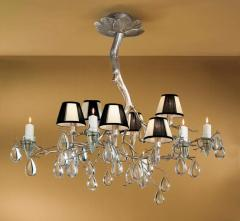 Classic 10026 SF - Six Light Up Chandelier