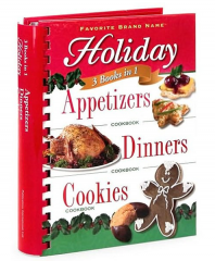 3 Books in 1: Holiday Appetizers, Dinners, and