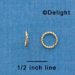 10mm Fancy Jump Ring
